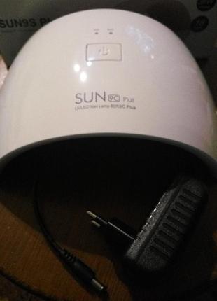 36 вт . светодиодная лед лампа для гель лака . sun 9c plus . led uv