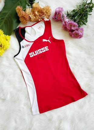 Футболка puma suisse розмір s