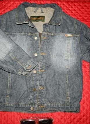 Курточка джинсовая на меху бренд