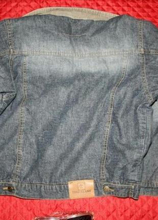 Курточка джинсовая на меху бренд2
