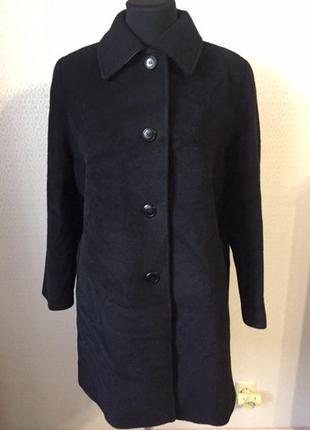 Качественное пальто клссного состава (шерсть, мохер) большой размер от made in italy
