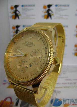 Мужские наручные часы rolex с датой на браслете