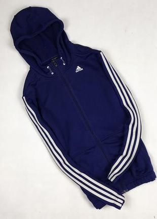 476d321a3bbe Спортивная кофта adidas climalite original мужская синяя s пайта мастерка  олимпийка