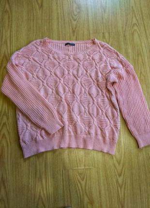 Теплий свитер, свитер оверсайз.