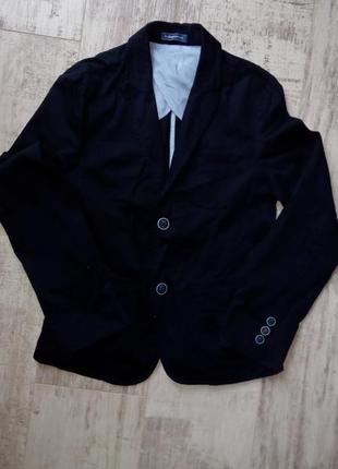 Коттоновый пиджак на мальчика