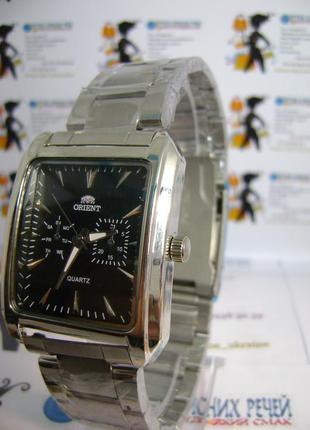 Мужские наручные часы orient на браслете