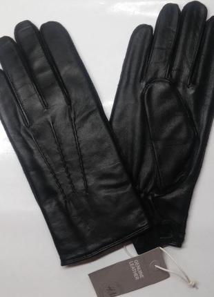 Мужские кожаные перчатки h&m. премиум качество.2 фото