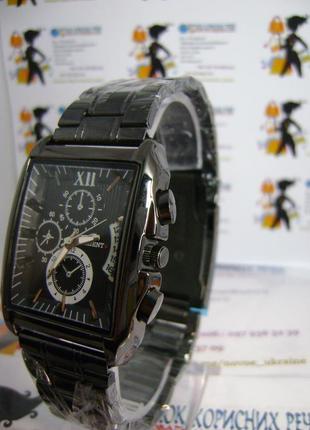 Мужские наручные часы orient с датой на браслете