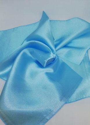 Шейный однотонный платок