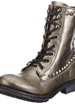Дизайнерские гранжевые ботинки от итальянского ash, 40(поздняя осень-зима)