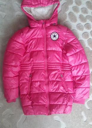 Тепле пальто converse. куртка