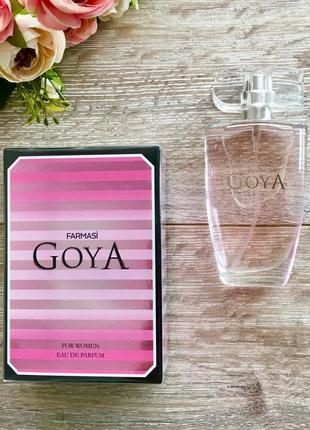 Парфюмированная вода goya farmasi