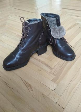 Зимние ботинки сarlo pazolini италия