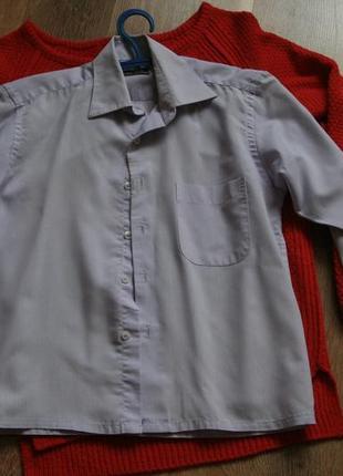 Школьная рубашка 7=9 лет