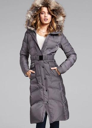 Victoria's secret winter puffer coat оригинал шикарная куртка пуховик на зиму