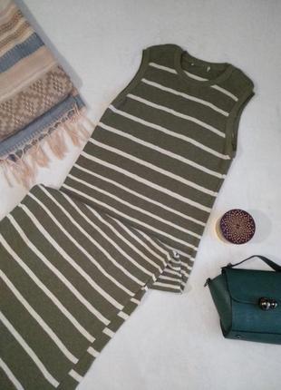 Макси длинное платье теплое вязаное в пол
