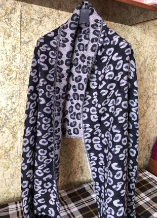 Двухсторонний шарф, палантин