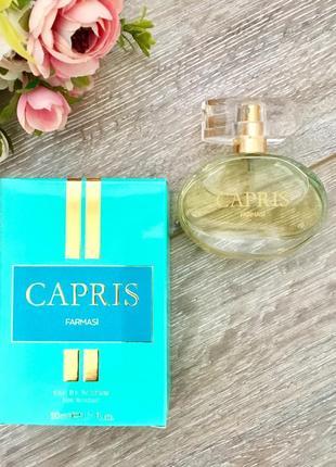 Парфюмированная вода capris farmasi