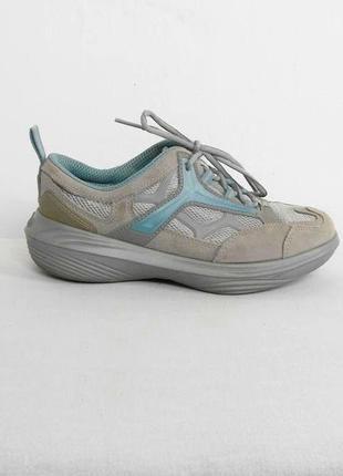 Замшевые осенние спортивные кроссовки kybun италия