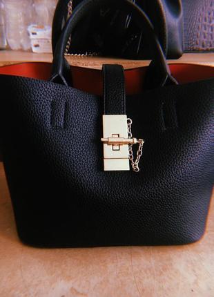 Стильная сумочка-шопер