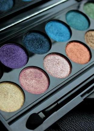 Палетка теней для век i-divine eyeshadow palette original от sleek