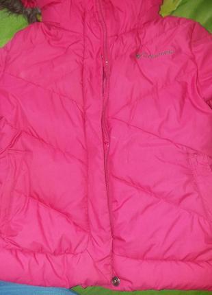 Зимняя куртка пуховик columbia оригинал