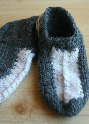 Носки следки вязаные