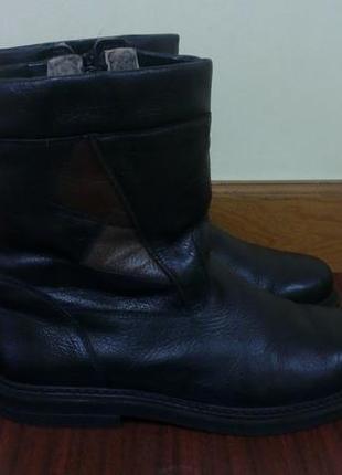 Кожаные ботинки на меху echt lammfell, 46