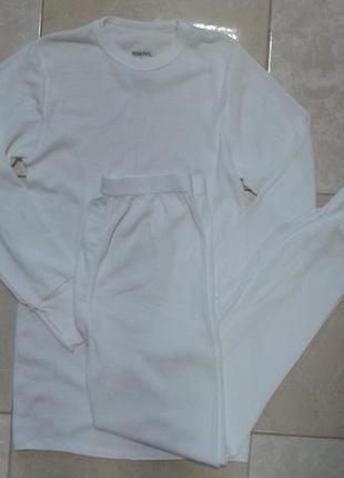 Высококачественное термобелье штаны и реглан 50 % хлопок с- м от merona