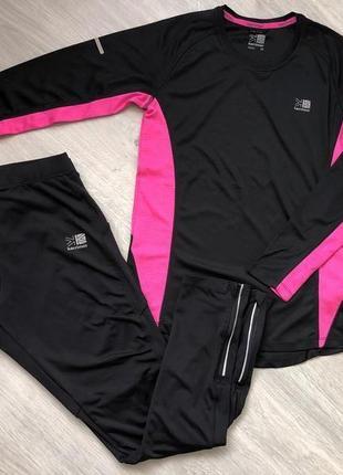 "Костюм для фитнеса. костюм для спотра. размер м-л ( 44-46 бренд ""karrimor"""