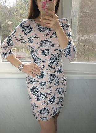 Летнее милейшее платье в цветочный принт от new look вискоза