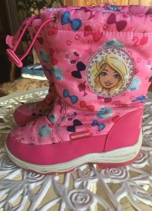 Зимние сапожки , ботинки на девочку