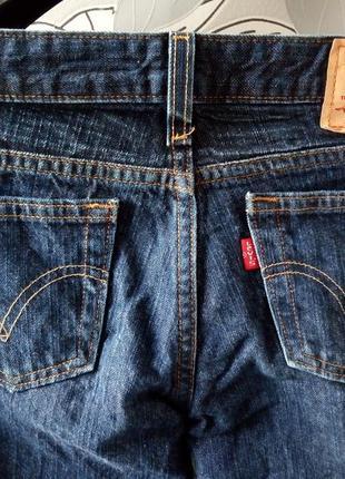 Темно-синие прямые джинсы levis4
