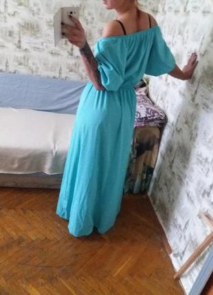 Офигенное платье в пол, платье длинное, макси