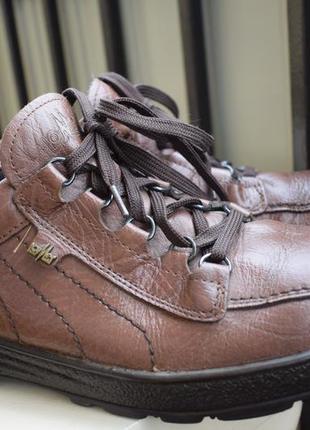 Кожаные туфли мокасины полуботинки lomer италия р.45/10 29,5