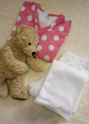Пижама мягкая,тёплая,уютная размер 18-20 love to lounge