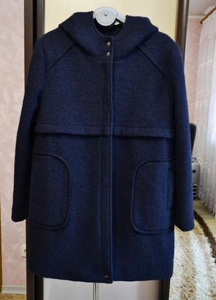 Шерстяное пальто италия