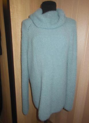 Теплый , мягкий свитер туника