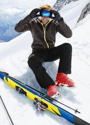Мужские лыжные штаны crivit®pro (германия) с системой позиционирования recco® !!