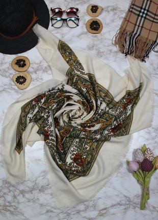 Обнова! платок косынка шарф этно принт  качество