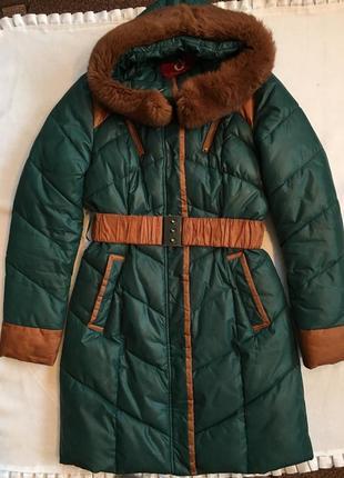Зимовий пуховик, куртка