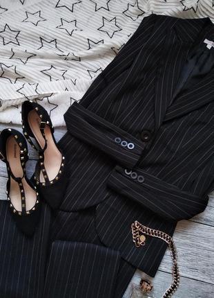 Шикарный классичечкий костюм брюки пиджак в офисном стиле от first you