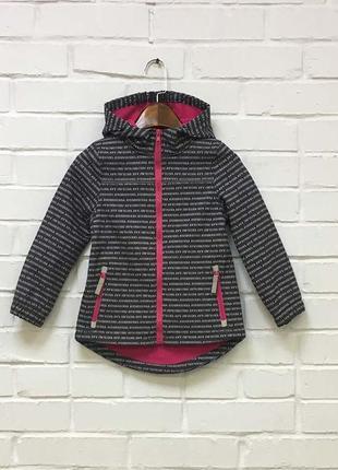 Куртка софтшелл на флисе р.116 topolino германия
