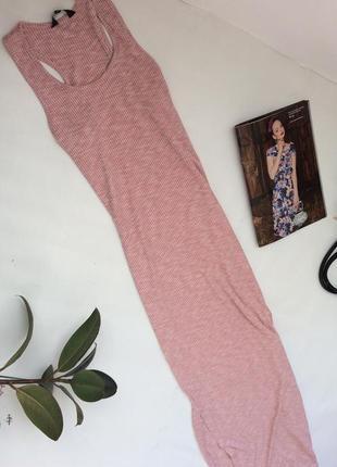 Длинное стильное платье в пол