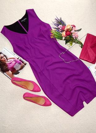 Изящное миди платье-футляр по фигуре dorothy perkins цвет фуксия