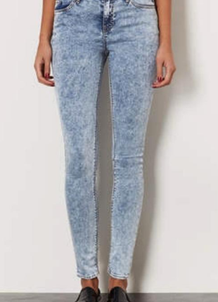 Denim co оболленные джинсы skinny
