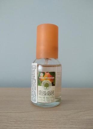 Yves rocher туалетна вода сочный персик