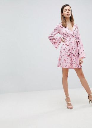 Платье с запахом ivyrevel,р-р l