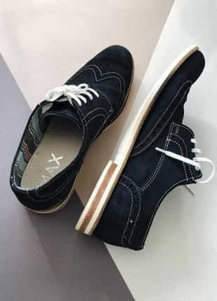 Замшевые туфли max