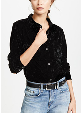 Marks & spencer нежная велюровая рубашка